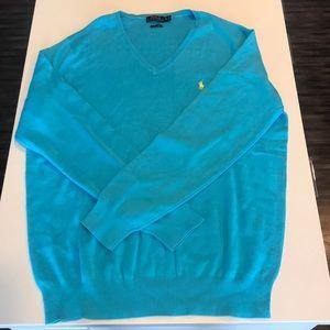 Ralph Lauren Polo // V neck sweater
